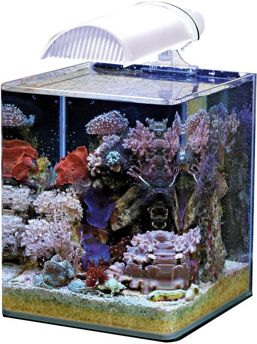 Nano eau de mer nano marinus complete plus 60 litres for Aquarium 30 litres pas cher